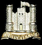 Inniskilling Dragoon's badge