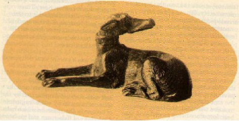 Lydney dog statuette