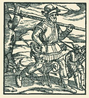 Woodcut from the History of Scotland