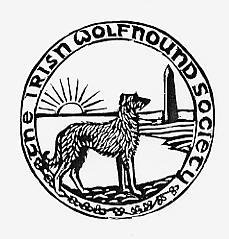 Irish Wolfhound Society badge